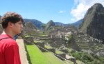 Oh wait what? Where is Logan... oh right. Hes checking out Machu Picchu.